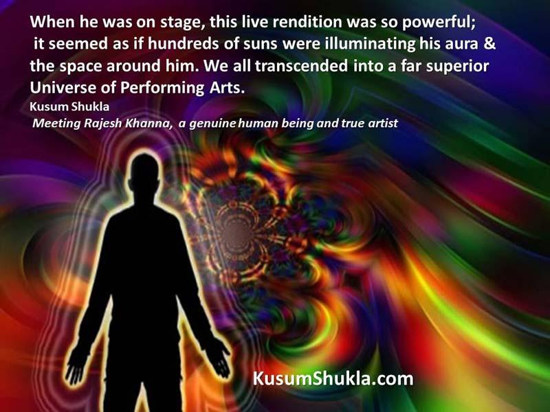 Rajesh Khanna live performance